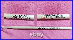 Rolling Stones Drums Charlie Watts Hand Signed 1 VIC Firth Signature Drum Stick