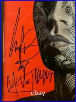 Rolling Stones Hand-signed Framed Tattoo You Lp Autograph All 4! 1997 Nashville
