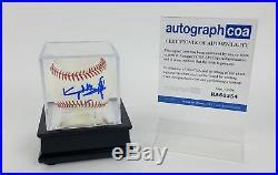 Rolling Stones Keith Richards Autographed Signed Baseball ROMLB ACOA LOA