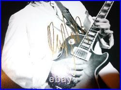 Rolling Stones Mick Taylor Rare Autographed Signed 11x14 Photo Bluesbreakers BAS