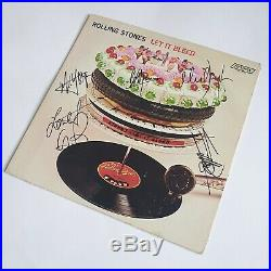 Rolling Stones Signed / Autographed Let It Bleed Vinyl Lp Ex/ex