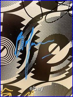 Rolling Stones Steel Wheels LP Originally Autographed 5 Band Members
