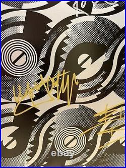 Rolling Stones Steel Wheels LP Originally Autographed By 5 Members