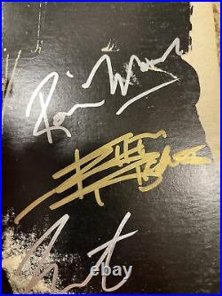 Rolling Stones Sticky Fingers Originally Autographed Jagger Richards Three More