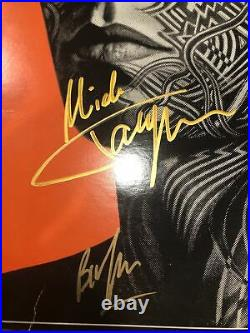 Rolling Stones Tattoo You LP Originally Autographed Jagger Richards Three Others