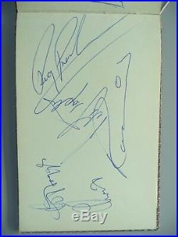 Rolling Stones (WithBrian Jones) Roy Orbison & More 60s Autographs With PSA COA