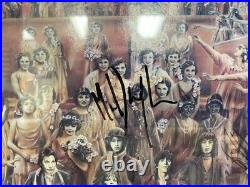 Rolling Stones autographed It's Only Rock N Roll signed by all framed Gold Album