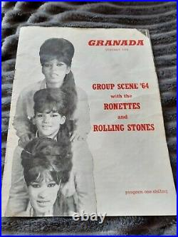 Rolling stones autographed