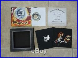 Ronnie Ron Wood Rolling Stones Lucky Man 7 Signed Autographed #'d 588/750 Set