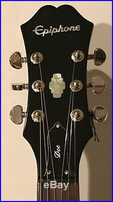 Ronnie Wood Rolling Stones signed Guitar epiphone psa dna coa