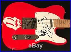 Ronnie Wood Signed Guitar Rolling Stones Autographed Telecaster w sktech (Faces)