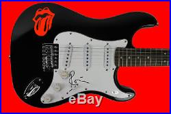 Ronnie Wood The Rolling Stones Authentic Signed Guitar Autographed BAS #C56785