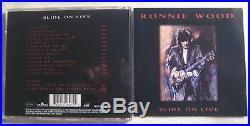 Ronnie Wood signiert Rolling Stones CD signed autograph Signatur Autogramm
