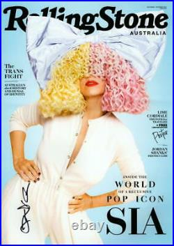 SIA SIGNED AUTOGRAPH ROLLING STONE 11x17 POSTER PHOTO PRINT 1000 FORMS OF FEAR