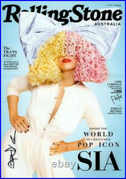 SIA SIGNED AUTOGRAPH ROLLING STONE COVER 11x17 POSTER PHOTO PRINT THIS IS ACTING