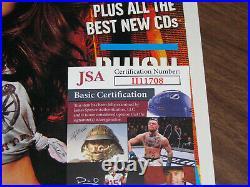 Shania Twain Autographed Rolling Stone Magazine Hand Signed JSA COA