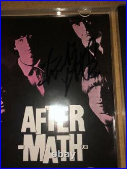 Signed Charlie Watts Bill Wyman The Rolling Stones Aftermath CD Rare Authentic