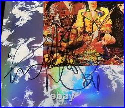 Signed Charlie Watts The Rolling Stones Their Satanic Majesties Request Vinyl