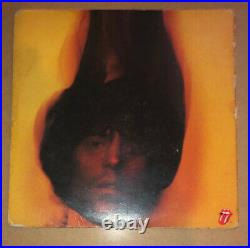Signed The Rolling Stones Mick Taylor Charlie Watts Goats Head Soup Album Vinyl