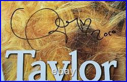 TAYLOR SWIFT Signed Autograph 24x33.5 Rolling Stones Poster JSA