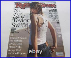 TAYLOR SWIFTAutographed 8 x 10 Rolling Stone Photograph withCOA+HologramSexy
