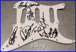 THE ROLLING STONES 2019 Band Music RARE Signed Autographed Guitar Pickguard COA