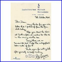 The Rolling Stones 1964 Autographs & Bill Wyman Handwritten Letter (UK)
