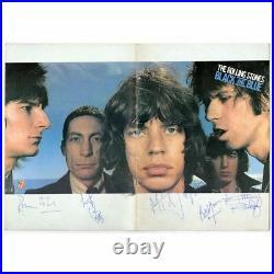 The Rolling Stones 1976 Autographed Black & Blue Tour Programme (UK)