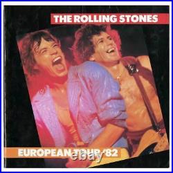The Rolling Stones 1982 Autographed European Tour Programme (UK)