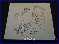 The Rolling Stones Autograph Andrew Loog Oldham The Bands Manager Great Doodle