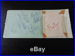The Rolling Stones Autographs A Full Set Of Signatures Circa Early 1964