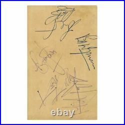 The Rolling Stones Autographs Brisbane 1965 (Australia)