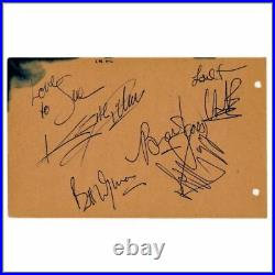 The Rolling Stones Autographs (UK)