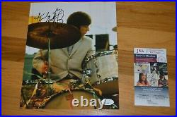 The Rolling Stones Charlie Watts 8x10 Color Photo Autographed Photo JSA COA