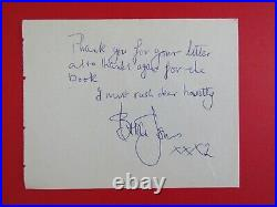 The Rolling Stones Fully Signed Auto Page with Brian Jones Letter to the reverse
