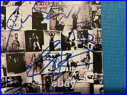 The Rolling Stones Fully Signed Exile on on Main Street CD Jagger Richards Wood