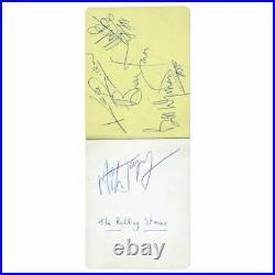 The Rolling Stones, Gene Vincent & Others 1960s Autographs (UK)