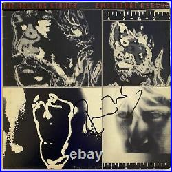 The Rolling Stones Hand Signed 12 Vinyl Emotional Rescue Music Autograph