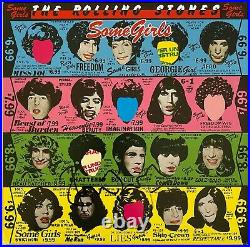 The Rolling Stones Hand Signed 12 Vinyl Some Girls Music Autograph
