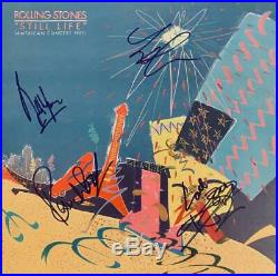 The Rolling Stones Hand Signed Autograph Lp Album No Coa