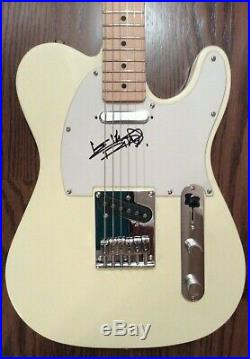 The Rolling Stones Keith Richards Signed Autographed Guitar (Beckett Certified)