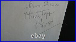 The Rolling Stones Mick Jagger, Roman Polanski Autographs Paris France 1982