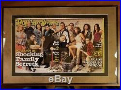 The Sopranos Cast Signed 12x19 Rolling Stone Magazine Cover Very Rare