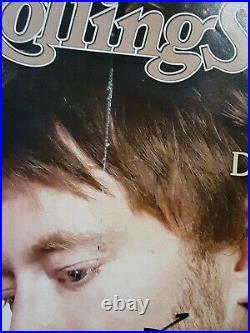 Thom Yorke Of Radiohead Autographed Signed February 2008 Rolling Stone Magazine