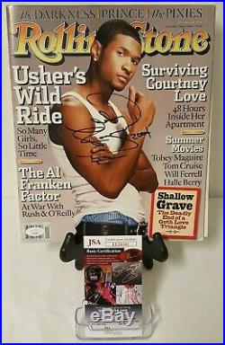 Usher Raymond Signed Autographed Rolling Stones Magazine 5-13-2004 JSA EE24341