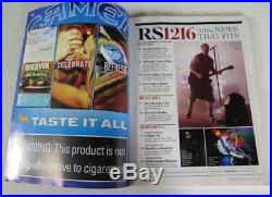 WILLIE NELSON Signed Autograph Rolling Stone Magazine