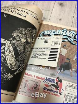 X1 Signed CYNDI LAUPER Rolling Stone MAGAZINE Autograph COA IN PERSON 1984